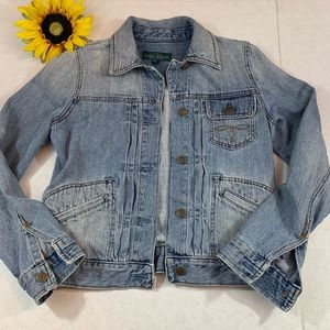 Ralph Lauren Light Wash Jean Jacket Spring